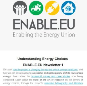 ENABLE.EU Newsletter 1