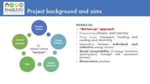ENABLE.EU presented at the Centre for Climate and Energy Transformation