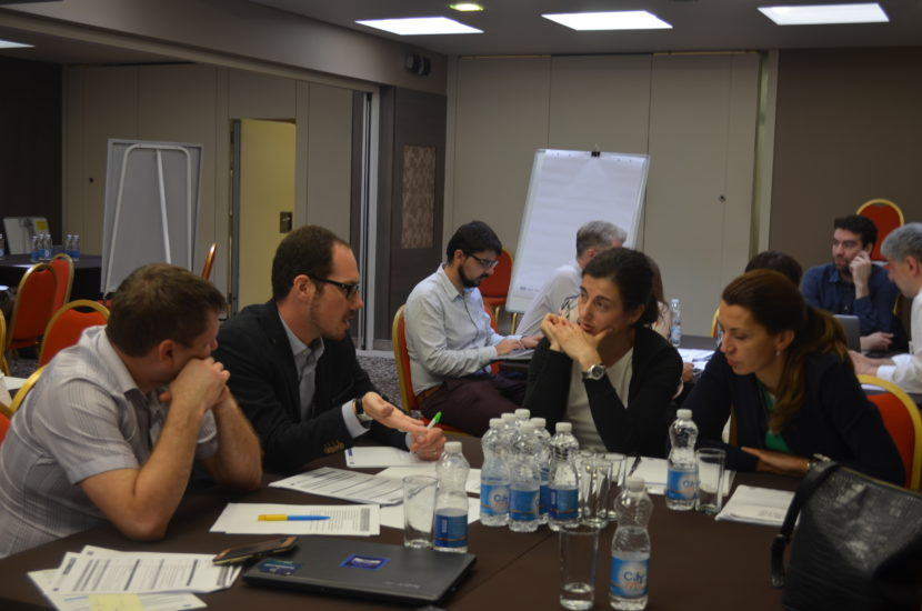 Discussing the energy transition at the stakeholder workshop