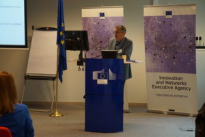 Presenting ENABLE.EU at the clustering event