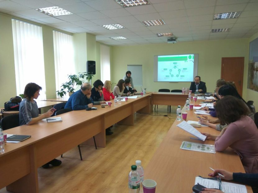 Ukraine green economy round table