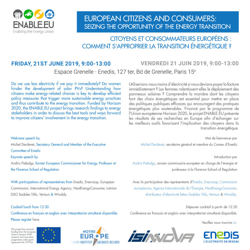 ENABLE.EU workshop invitation