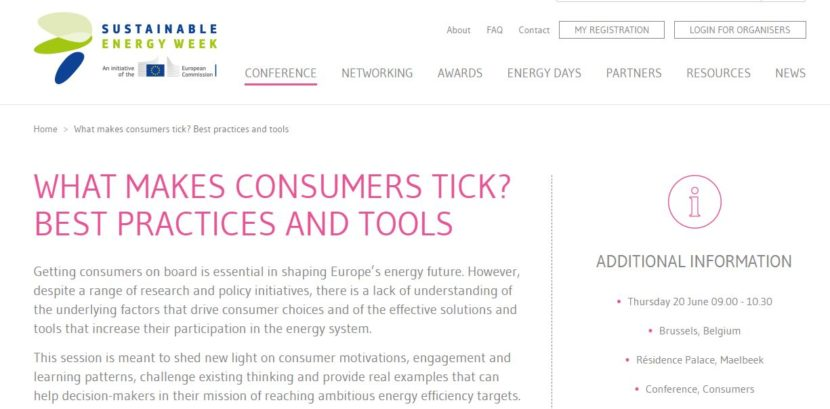 ENABLE.EU at Sustainable Energy Week