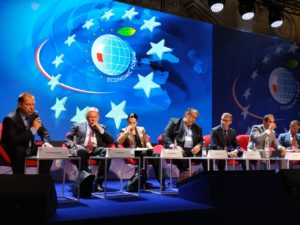 photo of panel at energy forum