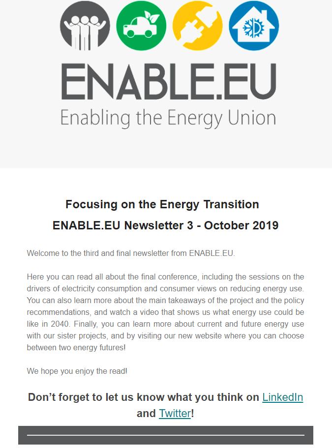 ENABLE.EU Newsletter 3